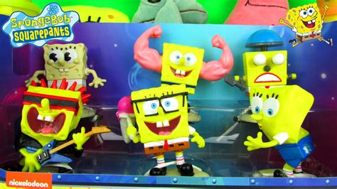 Spongebob Squarepants Hall Of Fame Figure Set Fun Toy