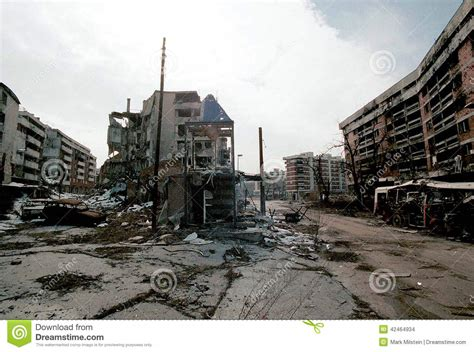 siege sarajevo bosnian civil war editorial stock image image 42464934