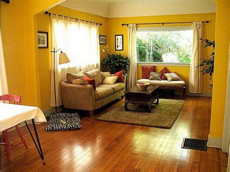 Yellow Wall Living Room Colors Ideas