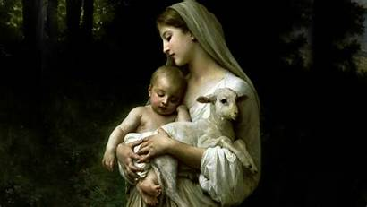 Mary Mother Jesus Wallpapers Christian