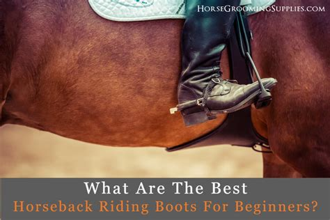 riding boots horseback beginners mens