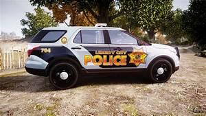 Ford Explorer Police Interceptor  Els  Marked For Gta 4
