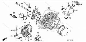 Honda Motorcycle 2007 Oem Parts Diagram For Cylinder Head Cover