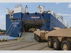 AMVs Arrived in UAE Armada International