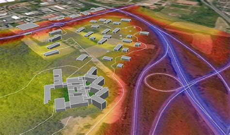 bureau etude acoustique site du futur hôpital de metz itac acoustique