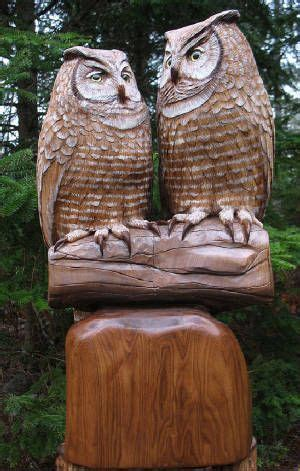 owl wood carving ideas images  pinterest