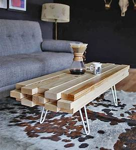 DIY Cool Coffee Table Ideas Projects The Budget Decorator