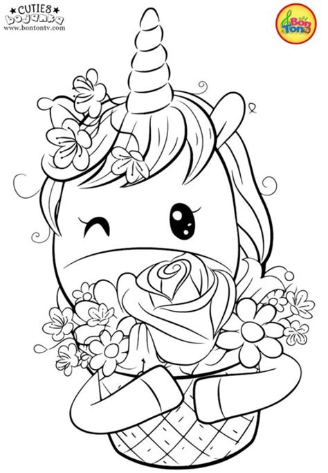 Cuties Coloring Pages For Kids 1 Coloring Pages Printables