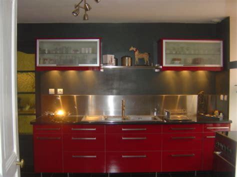 organisation cuisine rouge de chez ikea