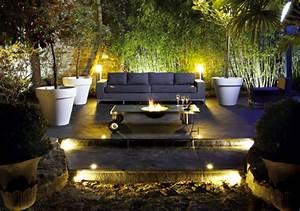 Brasero De Jardin : table brasero design pour nos soir es dans le jardin ~ Teatrodelosmanantiales.com Idées de Décoration