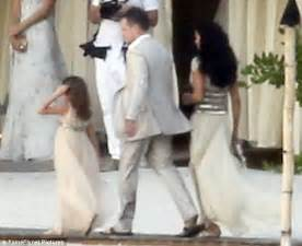 Matt Damon And Wife Luciana Renew Their Vows In Intimate