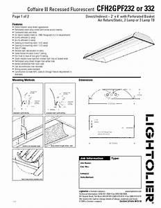 Cfh2gpf232 Manuals
