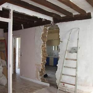 abattre mur porteur marie claire maison With trouer un mur porteur