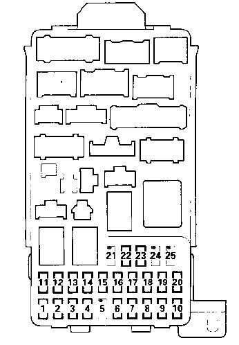 06 I 250 Fuse Box Diagram by 2006 Acura Tl Fuse Box Diagram Auto Electrical Wiring