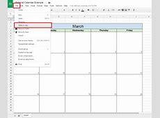 How To Create a Free Editorial Calendar Using Google Docs