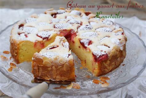 g 226 teau au yaourt aux fraises amour de cuisine