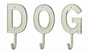 monogram letter d single wall hook painted cast iron 75 With cast iron letter hooks