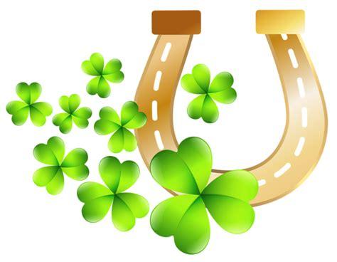 St Patrick's Day Horseshoe Png Clip Art Image