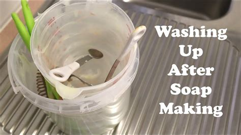 clean   soap making   tip
