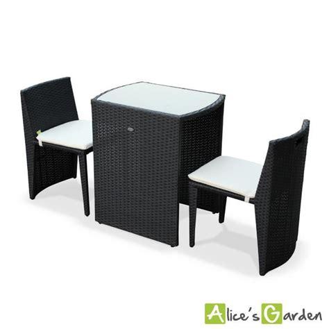 table avec chaise encastrable pas cher table de jardin en resine tressee avec chaise encastrable