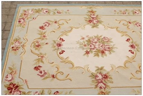 pink shabby chic rug 4x6 light blue cream french aubusson area rug shabby pink chic roses wool woven ebay