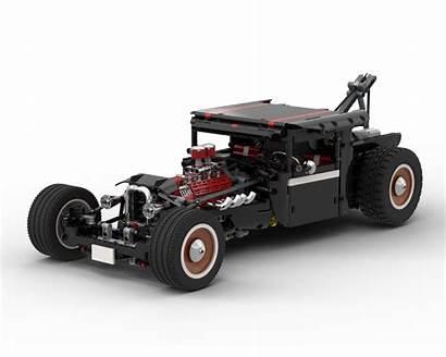 Hotrod Moc Rc Lego Technic Rebrickable Bricksafe