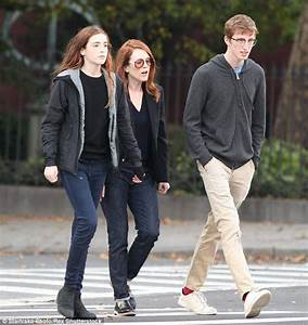 Julianne Moore & Family