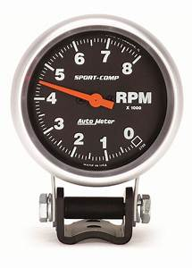 Auto Meter Tachometer - Tach It On