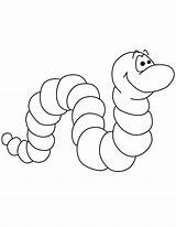 Worm Coloring Pages Printable Worms Bookworm Cartoon Template Templates Clip Preschool Coloringfolder Sheets Vowels sketch template