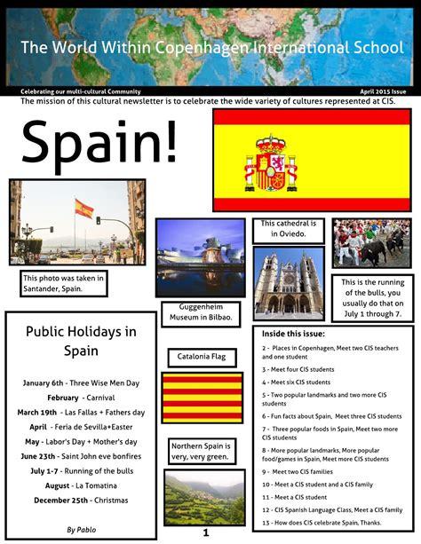 Cis Cultural Newsletter Spain April 2019 By Copenhagen