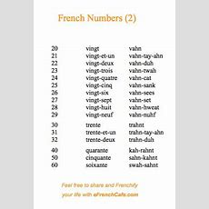 French, French, French Numbers (2)  Your Helpful Guide To Ordering Many Many More Croissants