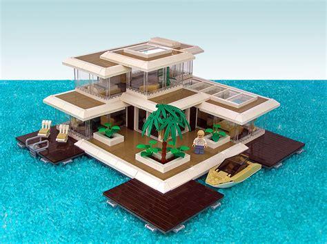Lego House - architecture mocs building lego brickpicker