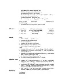 track coaching resume templates cortney braswell resume 2014