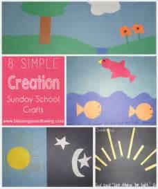 Creation Sunday School Craft Ideas