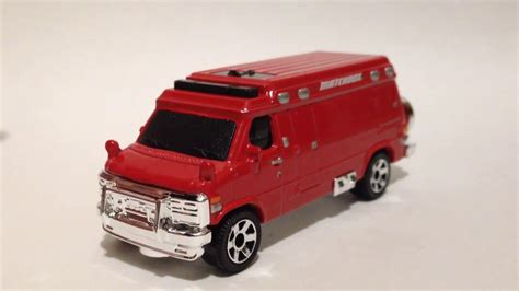 matchbox chevy matchbox 39 95 custom chevy van 2017 f case youtube