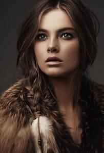 Beautiful Brown Hair Brunette Fashion Girl Image