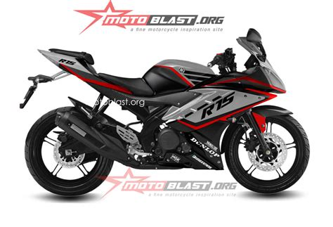 R15 Modif by Modif Striping Yamaha R15 Black Elegan Motoblast