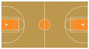 Printable Basketball Court Diagram Half Court