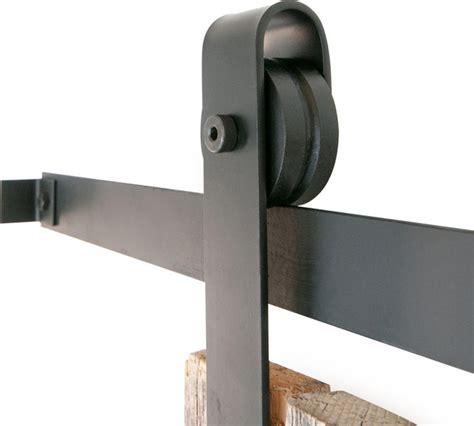 classic slide barn door closet hardware rubbed bronze