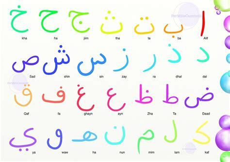 lettere alfabeto arabo alfabeto arabo per bambini introduzione