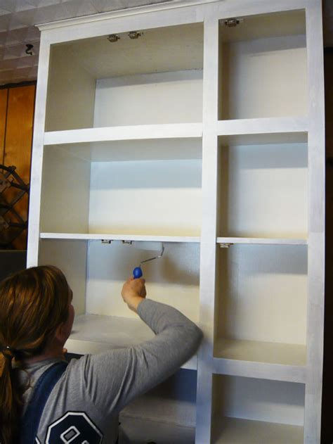 do you paint the inside of kitchen cabinets kitchen cabinet facelift repurpose doors to save money 9952