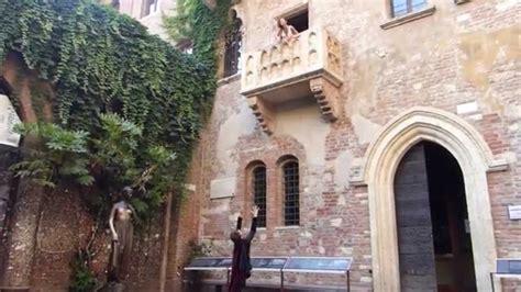 casa romeo e giulietta verona dismappa verona giulietta e romeo scena balcone