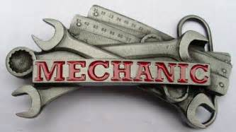 Tools Mechanic Belt Buckle