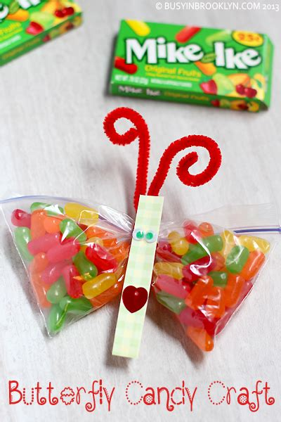 christmas gifts for classmates busy in brooklyn blog archive butterfly candy craft