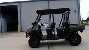 2014 Mule 4010 Trans Camo Lift Kit  Steel Top  Windshield