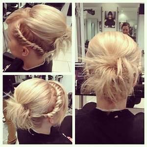 French Braiding Short Hair HairStyle Ideas In 2018