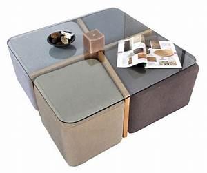 Table Basse 4 Poufs : blog vente priv e num ro 45 la table basse terra 4 poufs ~ Teatrodelosmanantiales.com Idées de Décoration
