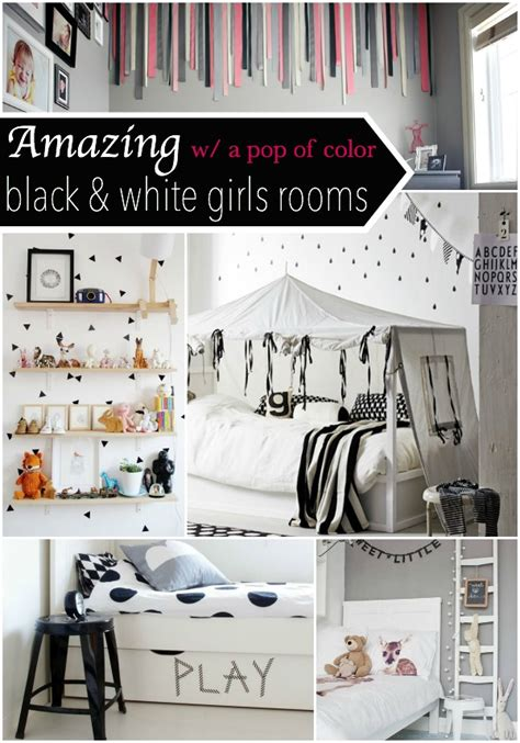 black and white bedroom with a pop of color black white w a pop of color room decor our thrifty 21310
