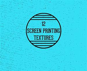 Screen Printing Textures ~ Textures on Creative Market
