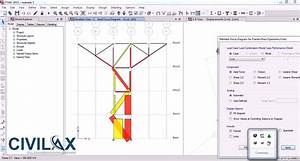 Determining Internal Forces In 2d Truss Using Etabs